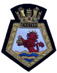 EXETER OLD - Blazer Badge~OFFICIALLY LICENCED PRODUCT